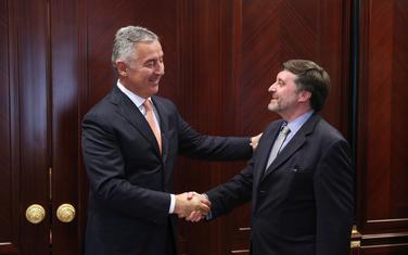 Milo Đukanović i Metju Palmer