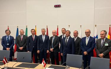Ministar Bošković  na sastanku u Briselu