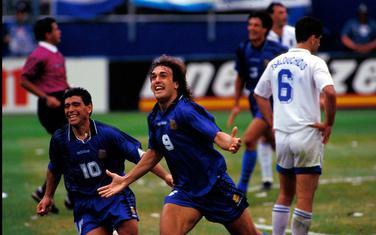 Maradona i Batistuta