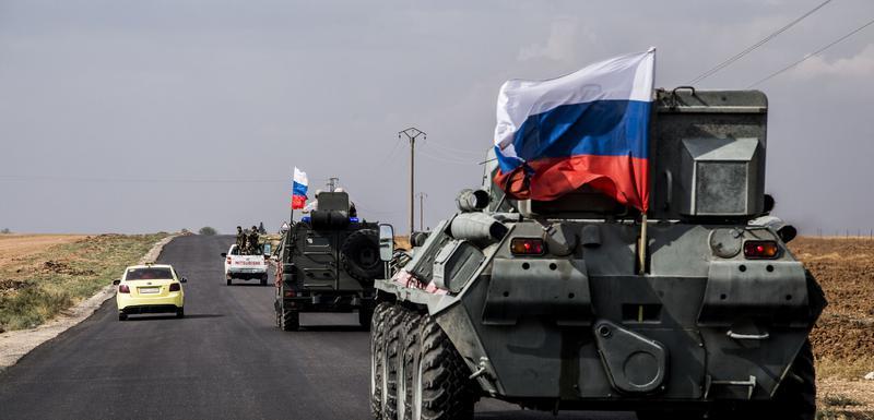 Ruske vojne patrole u sjevernoj Siriji
