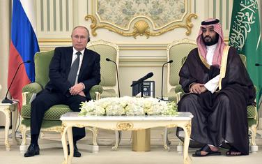 Putin i Muhamed bin Salman u Rijadu