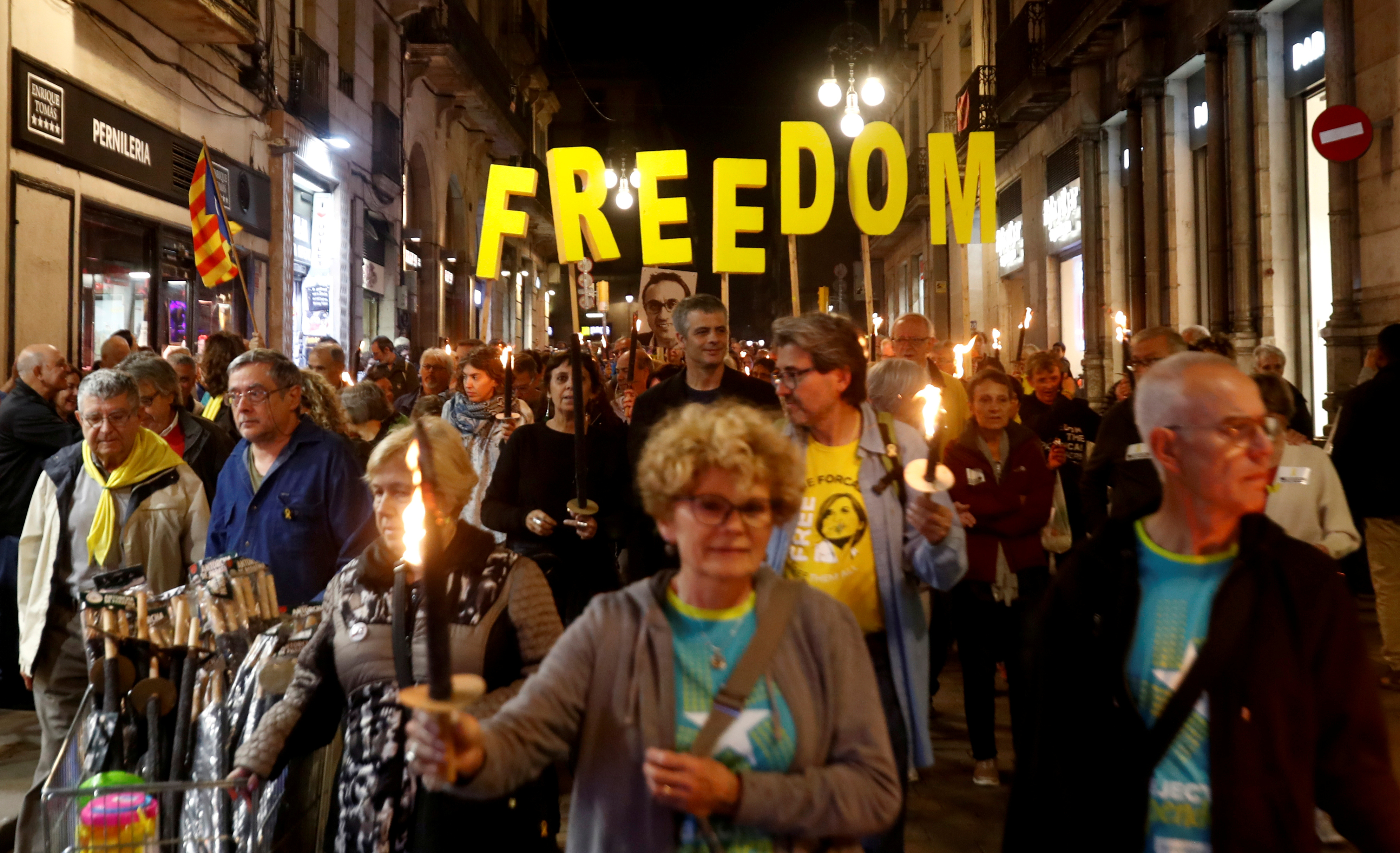 protest Barselona