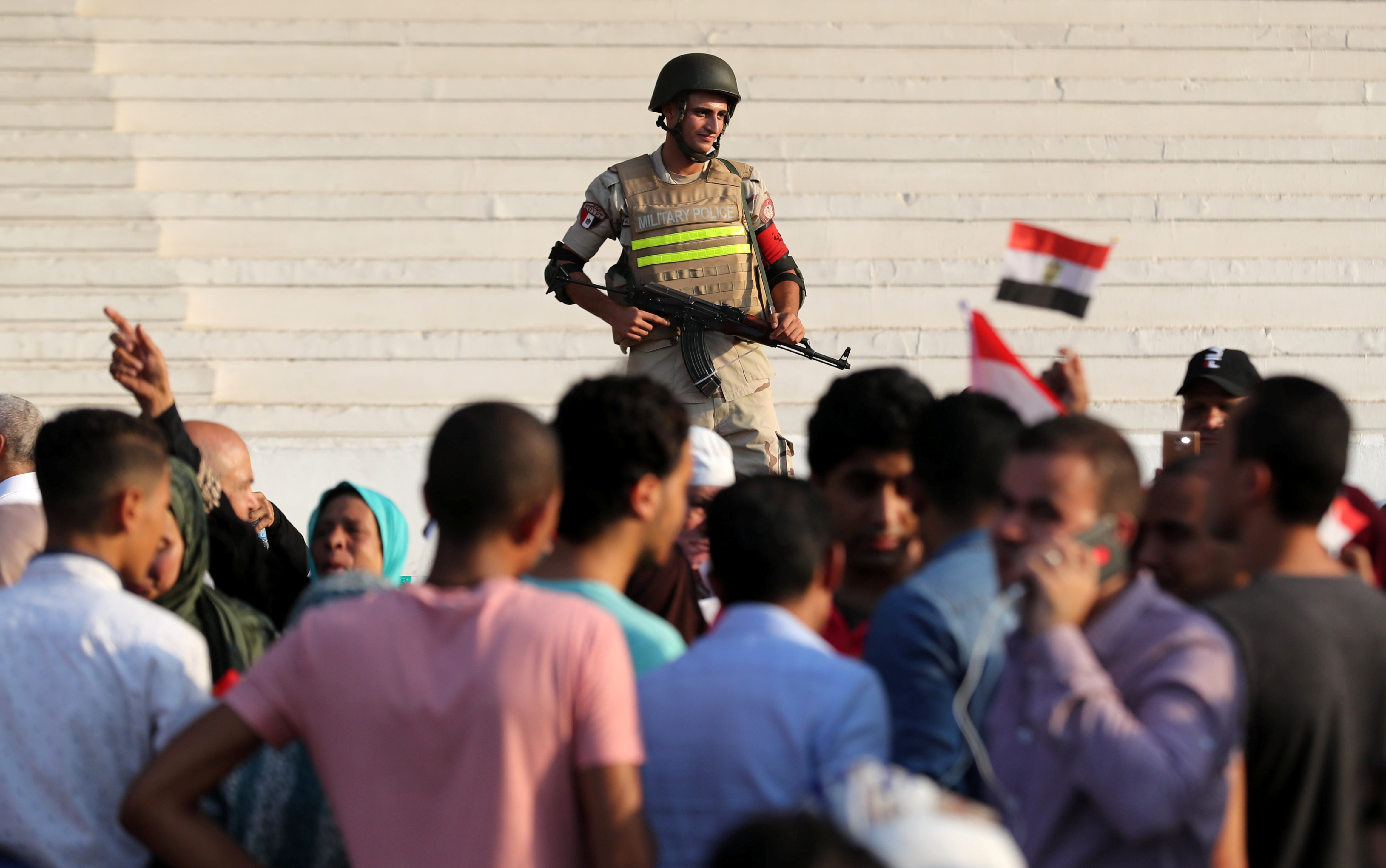 Kairo, protest