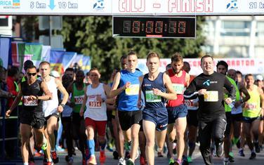 Sa prošlogodišnjeg maratona
