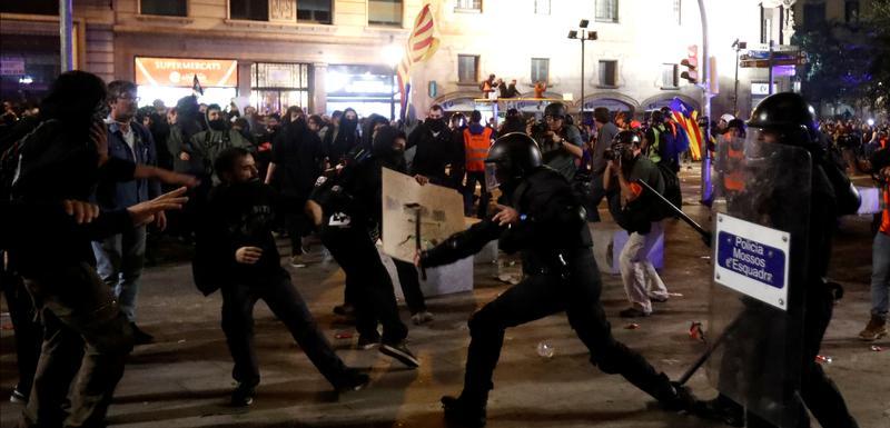 Sa protesta na ulicama Barselone