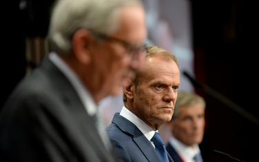 (Junker i ) Tusk u Briselu