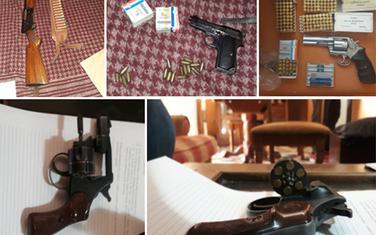 Oduzeto oružje i municija