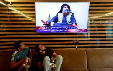 Vijest o smrti Al-Bagdadija na televiziji