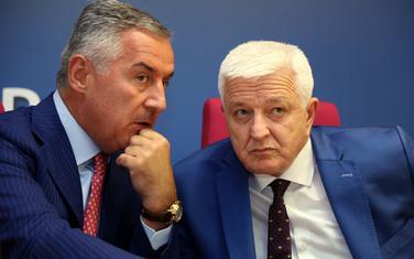 Milo Đukanović i Duško Marković