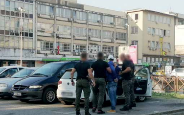 Hapšenje u centru Podgorice
