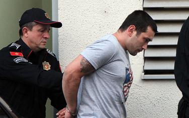 Lješnjak nakon hapšenja