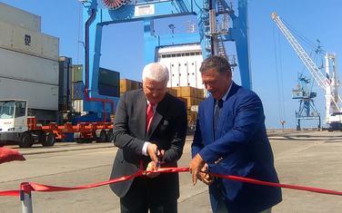 Problemi nakon dvije godine: Sa ozvaničenja rada novog krana za pretovar kontejnera u Port of Adria 2017.