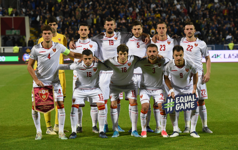 Crnogorski fudbaleri koji su počeli meč sa Kosovom