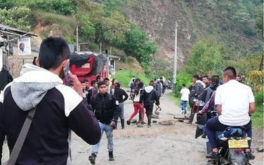 Napad se dogodio u gradu Toribio u kolumbijskoj provinciji Kauka