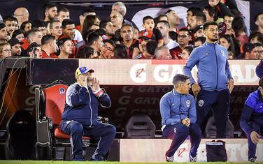 Maradona na prestolu