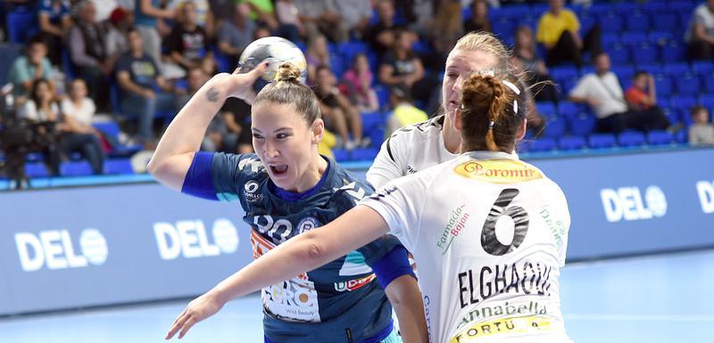 Milena Raičević na prvom meču sa Ramniku Vlčeom