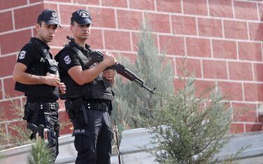 Pripadnici turske policije (Ilustracija)
