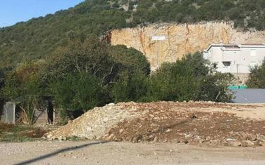 Gradilište na kojem su navodno ostaci ranohrišćanske bazilike