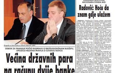 Vijesti 31. oktobar 2009. godine