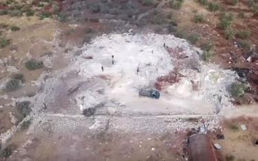 Snimak sa mjesta napada