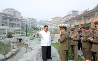 Lider Sjeverne Koreje Kim Džong Un