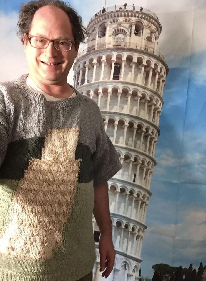 Pored tornja u Pizi