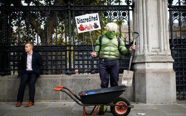 Protest ispred britanskog parlamenta