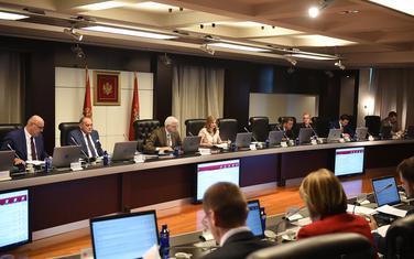 Sa jučerašnje sjednice Vlade Crne Gore