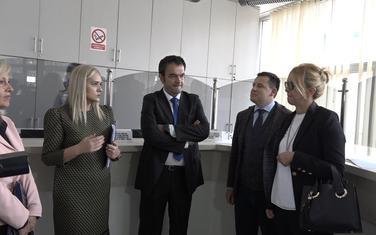 Ministarka u posjeti Građanskom birou