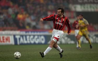 Savićević u dresu Milana
