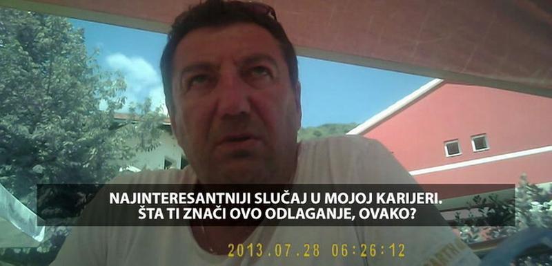 """Sa snimka emitovanog u """"Načisto"""""""