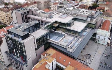 Milan Lojanica i Vladimir Lojanica, kompleks u Rajićevoj ulici u Beogradu u fazi izgradnje