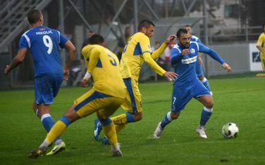 Sa dramatičnog meča Podgorica - Sutjeska