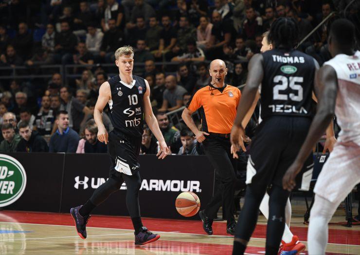 Partizan je odigrao prvi meč kao domaćin ove sezone