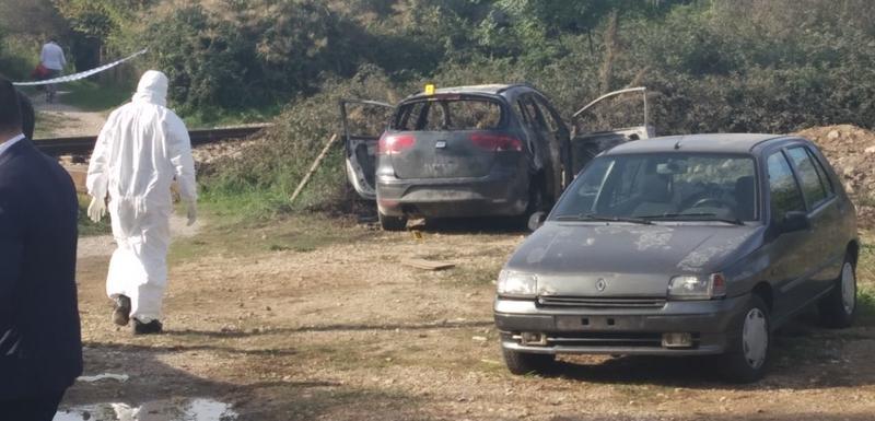 Automobil zapaljen nakon likvidacije