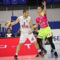 Nikola Ivanović na meču sa Megom