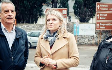 Vuksanović Stanković u posjeti Opštini Tivat