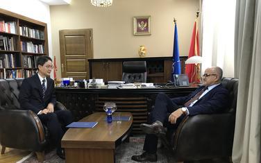 Darmanović sa ambasadorom Koreje