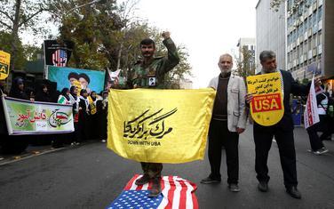 Protesti u blizini stare ambasade SAD u Teheranu
