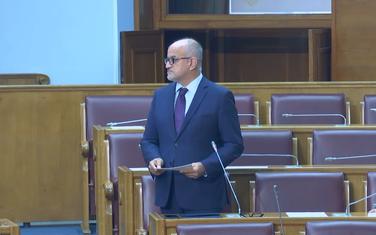 Darmanović u parlamentu