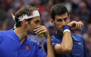 """Zajedno u grupi """"Bjern Borg"""": Federer i Đoković"""