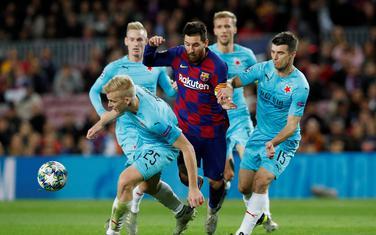 Mesi u duelu sa fudbalerima Slavije