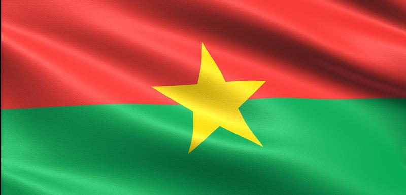 Zastava Burkine Faso (Ilustracija)