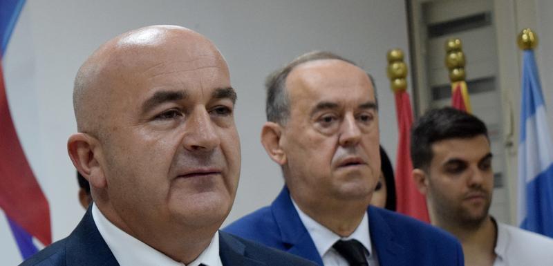 Zvaničan stav je bojkot Skupštine Crne Gore:Joković i Vasilije Lalošević