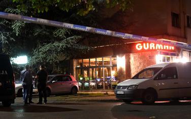 Uviđaj nakon napada na novinarku Oliveru Lakić (arhiva)