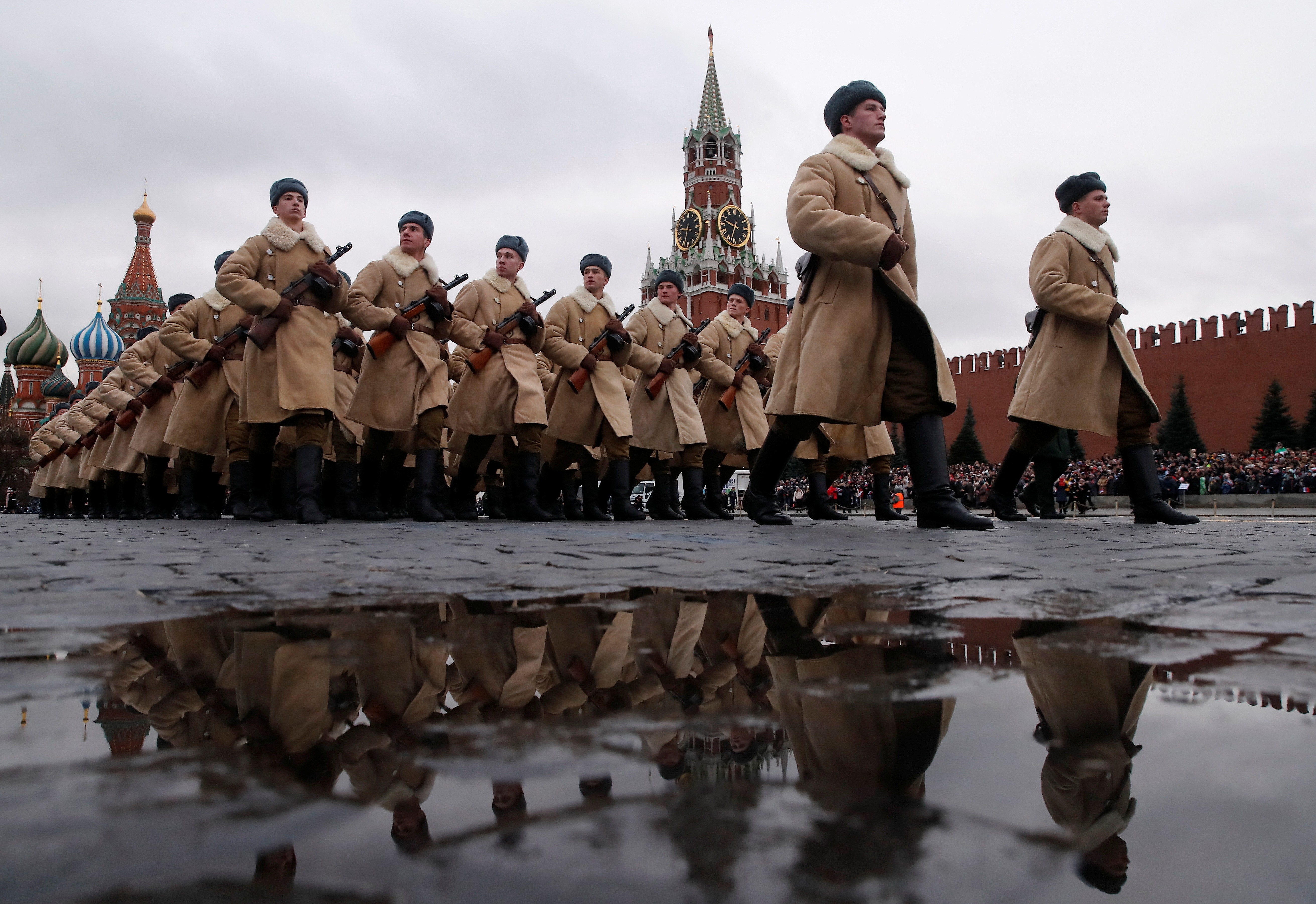 Danas na Crvenom trgu (foto: Reuters)