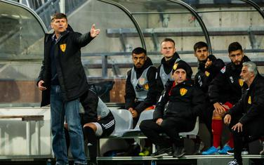 Mladen Milinković na klupi Sirijanske