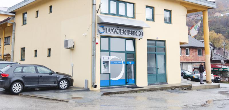 Šalter Lovćen banke u Petnjici