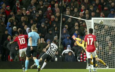 Markus Rašford postiže treći gol za Junajted