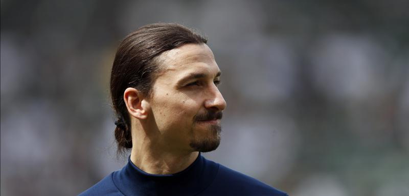 Zlatan Ibrahimović u opremi LA Galaksija